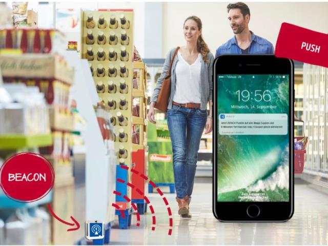 CHEP Smart Promotions: Beacon-Unterstützung am POS