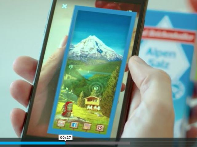 Augmented Reality-Food Marketing