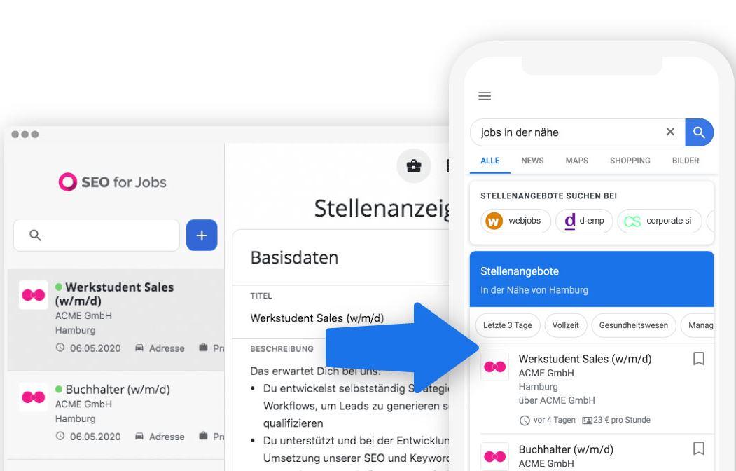SEO Google for jobs